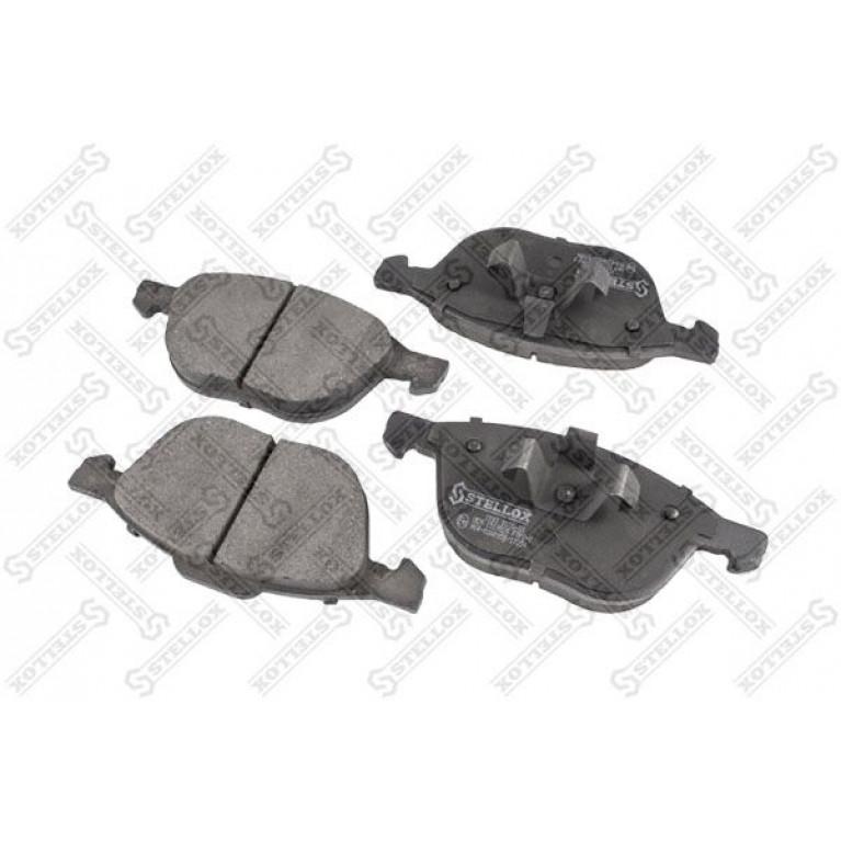 1093 000B-SX колодки дисковые п.! \ Ford Focus 1.4-2.0/1.6TDCi-2.0TDCi 04,Mazda 3 1.4-2.0TDCi 03