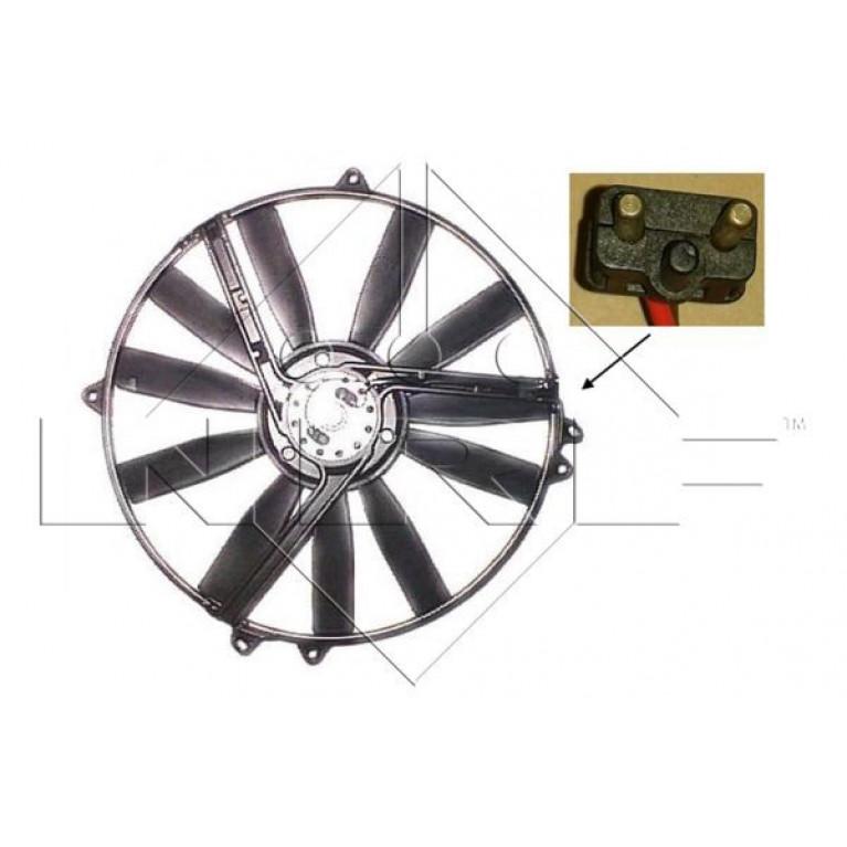 Вентилятор радиатора MB 190 82-93, COUPE 87-93, E-CLASS 93-98, KOMBI 85-93, SPRINTER 95-06, седан 84