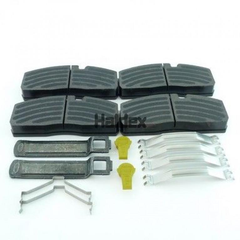 Колодки тормозные дисковые комплект; 210x93x30; Haldex DBT22LT ModulT, SBS 2220