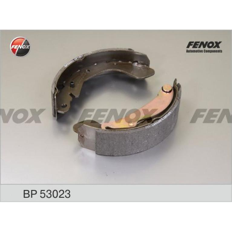 Колодки тормозные DAEWOO Nexia,Espero,Lanos,Nubira (88-) задние барабанные (4шт.) FENOX